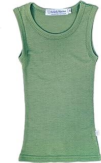 纯美利奴羊毛汗衫,适合儿童和幼儿。 用于运动或学校制服