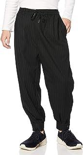 SAGISON 休闲裤 T/R/PU 弹力下摆带袖哈伦裤 男士 STRIPE 中号