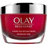 Olay 玉兰油 Regenerist 3 点紧致润肤霜 无香精 适用于紧致皮肤,50 毫升