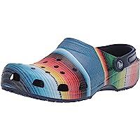 crocs 卡骆驰 男女经典条纹洞洞鞋 |休闲便鞋