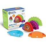 Learning Resources Spike The Fine Motor 刺猬彩虹堆叠玩具,堆叠和计数玩具,适合…