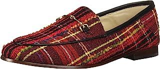 Sam Edelman Loraine 女士乐福鞋,Red Multi British Plaid,5