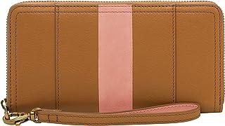 Fossil 女式 Logan RFID 拉链手拿包钱包