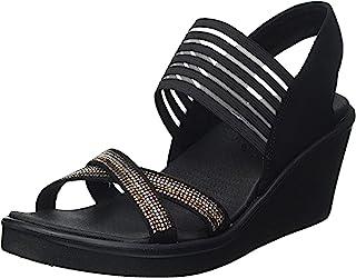 Skechers 斯凯奇 Rumble On Modern Mazer 2 楔形凉鞋