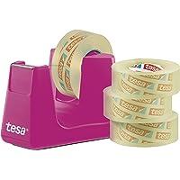 tesa 53908-00000 Easy Cut 桌面分配器 智能 粉色 33M: 19mm 53909