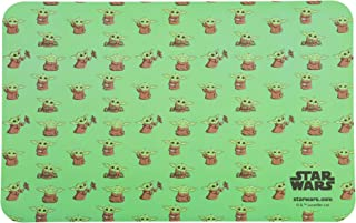 STAR WARS The Mandalorian The Child Dog 餐垫 | 防滑底部硅胶防漏狗狗食物餐垫 | *婴儿尤达狗餐垫 用于喂食和食物储存