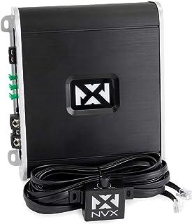 NVX VAD10001 1000W RMS D 级单块轿车/海洋/动力运动放大器,带低音遥控(海洋认证)