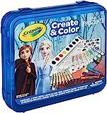 Crayola 冰雪奇缘2艺术套装,工艺品,适合 5 岁、6 岁、7 岁、8 岁儿童的礼物