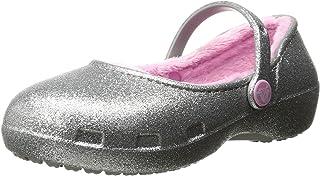 crocs Karin Sparkle 内衬洞洞鞋玛丽珍鞋(幼儿/小童)