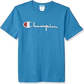 Champion 男式 经典字母图案T恤