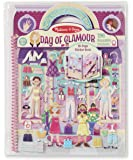 deluxe puffy sticker album - day of glamour: activity books…