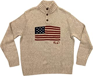 Ralph Lauren 保罗拉夫劳伦男式美国国旗毛衣 XL