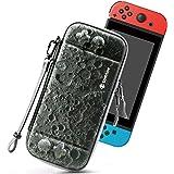 Tomtoc Nintendo Switch 便携包,超薄硬壳,带 10 个游戏盒,*保护手提箱,适用于原始*旅行,月球…