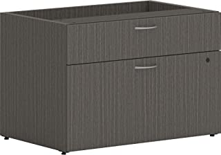 HON Mod Low Personal Credenza,21 x 30 x 20,石板柚木