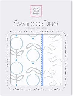 swaddledesigns 襁褓 DUO Doggie Blue