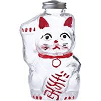 广田玻璃 点心瓶 透明 小 招财猫 SM-2S