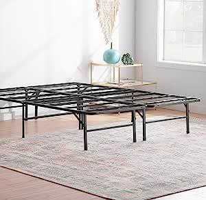 Linenspa 14 英寸折叠金属防水台床框