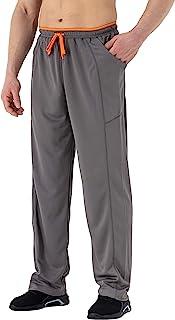TBMPOY 男式运动裤敞口宽松慢跑跑步裤带口袋