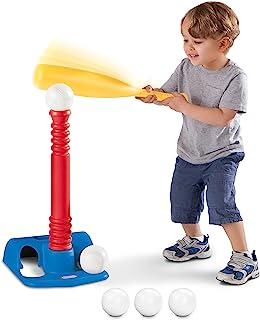 Little Tikes 小泰克 带5个球的儿童棒球套装(红色)
