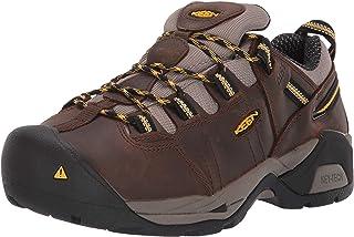 KEEN Utility 女式 Detroit XT (钢头)内侧护甲工装靴 适用于建筑工业