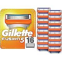 Gillette 吉列 融合剃须刀片,16支替换装,包装可能有所不同
