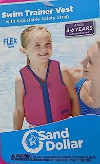 Sand Dollar 游泳训练背心适合 4-6 岁儿童(*大 50 磅)