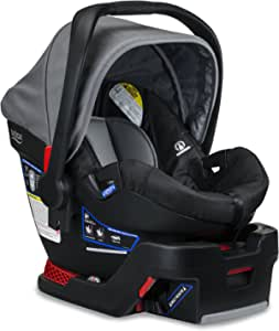 Britax B Safe-35 婴儿座椅,黑色 鸽子 Infant Car Seat and Base