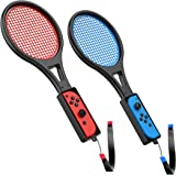 TalkWorks 任天堂 Switch 网球拍(2 只装)| Joy Con Controller Grip 运动游戏…