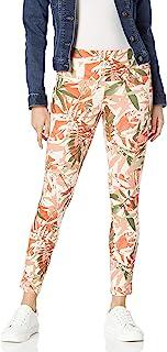 SLIM-SATION 女式印花 Ponte 及踝裤