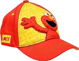 幼童棒球帽,适合 2-4 岁男孩,Elmo,Heather Jersey,儿童棒球帽