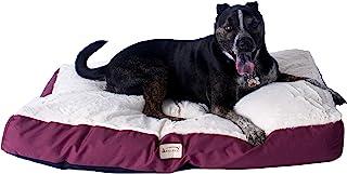 ARMARKAT 艾玛凯酒红帆布加米白棉柔舒适保暖猫狗垫子(适合多只猫咪或者中型犬) M02HJH/MB-L(亚马逊自营商品, 由供应商配送)