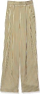 [双重标准服装] D/Nero 条纹裤 4806-271-201 女士 Brown/Beige 日本 36 (日本尺寸7 号相当)