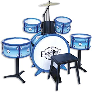 Bontempi – 51 4831 – 电池摇滚鼓,514831,白色蓝色