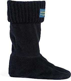 Pendleton 女式短摇臂缝合保暖靴袜子内衬雨靴