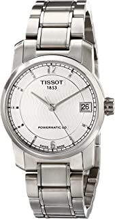 Tissot Women's T0872074403700 T-Classic Analog Display Swiss Automatic Silver Watch