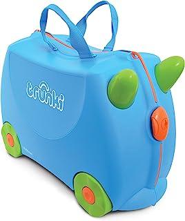 英国 Trunki 骑坐式小型行李箱-蓝色(Terence) TR0054-GB01