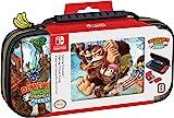 豪華 Donkey Kong 旅行箱,設計用于保護開關的模擬棒,2 個多游戲外殼 - 任天堂開關