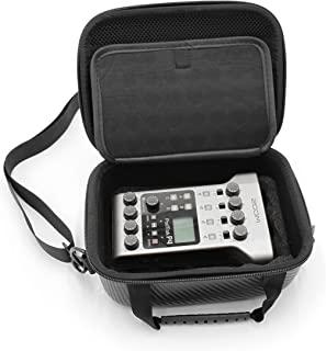 CASEMATIX 保护套兼容 Zoom Podtrak P4 播客录音机和带衬垫泡沫的播客配件,包括Zoom Podtrak P4 的保护套,带手柄和手提带