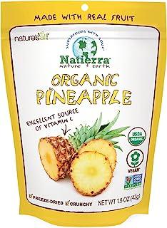 Natierra 冻干菠萝,1.5盎司(43g)