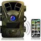 Rexing Woodlens H2-4K Wi-Fi 越野摄像机,20MP CMOS 运动传感器,带超夜视距离,512…