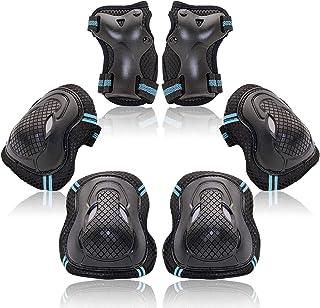 成人/儿童滑板滚轮滑肘护腕*齿轮垫护具 6 件套