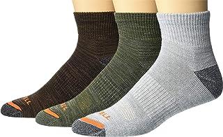 Merrell 男士加垫徒步短袜 3 双装