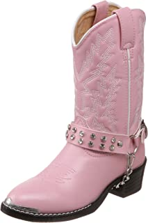 Durango Lil' Pink N Chrome BT568 西部靴子(幼儿/小童/大童)