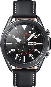 SAMSUNG 三星 Galaxy Watch 3(45毫米,GPS,蓝牙) 智能手表,带有高级监控,健身追踪和持久的电池-神秘黑(美国版)