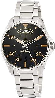 [哈密尔顿]HAMILTON 手表 卡其 飞行员计时器 机械式自动上弦 H64645131 男士 【正规进口商品】