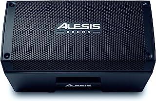 Alesis Strike Amp 8   2000 瓦便携式扬声器/放大器,适用于电子鼓套件,带8英寸(约20.3厘米)低音扬声器,轮廓均衡器和地面升降开关,8英寸(约20.3厘米)
