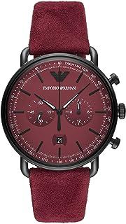安普里奥·阿玛尼 手表 AR11265 男式 正规进口商品 红色