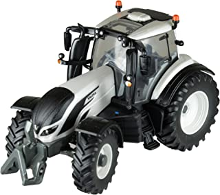 Britains 1:32 Valtra T4 拖拉机 - 适合室内和室外玩耍的农场车辆玩具 - 适合 3 岁儿童
