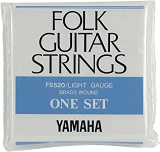 雅马哈 民谣吉他用组合弦FS520 ライトゲージ