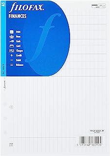 Filofax 活页笔芯,金钱和费用,A5 编号 340618